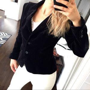 H&M Corduroy Black Blazer 🖤